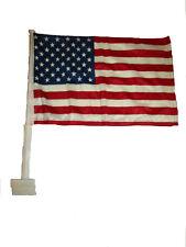 "12x15.5 USA American Double Sided Nylon Car Window Vehicle 12""x15.5"" Flag"