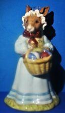 Vintage Mrs Bunnykins At The Easter Parade Figurine Royal Doulton Circa 1982