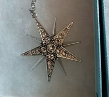 Touchstone Crystal Swarovski star necklace - New