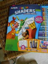 ART HOME SCHOOL SKILLS,LEARN THE MAGIC OF SHADING,COLORED PENCILS  # 5006