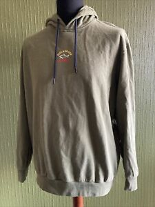 Paul And Shark Yachting Green Pullover Hoodie XL