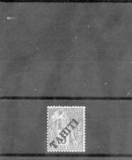 TAHITI Sc 8(YT 10)*F-VF LH, 1893 5c GREEN/GREENISH, $125