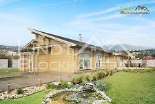Blockhaus als Ausbauhaus inkl. Montage nach m² Wohnfläche Holzhaus Fertighaus