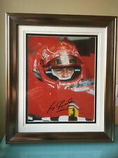Michael Schumacher Formula F1 signed photo framed World Champion Grand Prix UACC