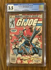 G.I. JOE #1 ~ CGC 3.5 , Presents Much Nicer 🔑 🔥 NEWSSTAND Marvel 1982!