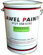 5Litre Polyester Basecoat RFU Any Colour Mixed To The Code Of Your Car.
