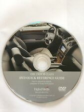 2009 Mercedes M-Class Quick Reference Disc Disk Guide CD ML350 ML550