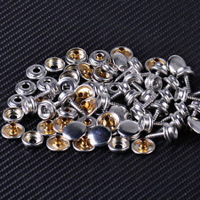 25x 14mm Snap Button Screw-In Studs Boat Covers Tarps fit Fastener Boat Marine