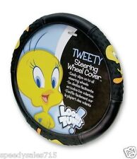 Plasticolor Universal Tweety Attitude Steering Wheel Cover New Free Shipping USA