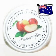 KRINGLE CANDLE ** Cortland Apple ** SCENTED BREAKABLE TART MELT SON OF YANKEE
