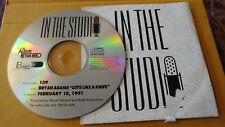 In The Studio Bryan Adams 'Cuts Like A Knife' #139 1 cd radio show 2/18/91
