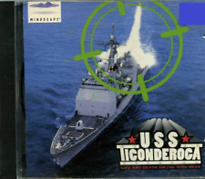 USS Ticonderoga Life and Death on High Seas Naval Combat PC Game 1994 Sealed