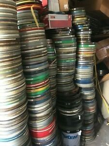 3, 16mm 800' FILM with canister random mixed, educational, cartoons from library
