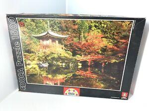 Educa 1500 Piece Jigsaw Puzzle Japanese Daigo-ji Kyoto Water Temple