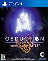 USED PS4 OBDUCTION JAPAN Sony PlayStation 4 import Japanese game