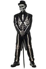 Brand New Tuxdeo Skeleton Bone Chillin Teen/Adult Costume