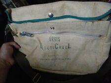 Vintage Orvis Arcticreel Canvas Fishing Creel