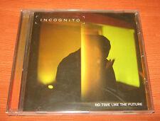 """Incognito CD """" NO TIME LIKE THE FUTURE """" Mercury"""