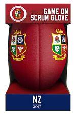 British and Irish Lions Rugby Nuova Zelanda 2017 titolare Guanto Palla DRINK