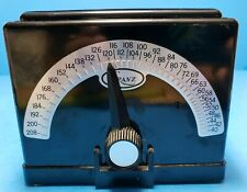 Vintage Franz Electric Metronome Model Lm-4 Art Deco Music Tempo Beat Tested Euc