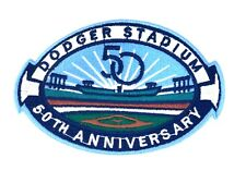 Los Angeles Dodgers Stadium 50th Anniversary Patch