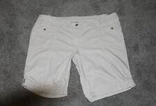 Womens size 28 tan linen blend shorts made by MODA - Target
