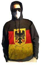 DEUTSCHES patriotisches männliches Sweatshirt mit Maskengesichtsschutz mit Filt
