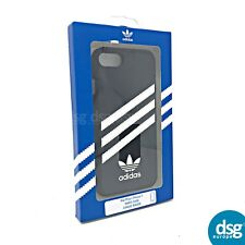 Adidas Classic Premium Hard Cover Case for Apple iPhone 8 7 6 6S - Black