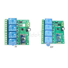 Dc 5v12v 4ch Bluetooth Relay Module Smart Home Mobile App Remote Control Switch