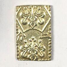 1860 Japan 2 Bu, Ni Bu Manen Era - 3 Gram -Gold Ingot - High Quality Scans #D024