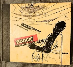 MEADE LUX LEWIS - BOOGIE at the PHILHARMONIC - 1946 Disc 2-record Set 502