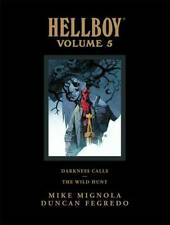 HELLBOY LIBRARY EDITION VOL #5 HARDCOVER Dark Horse Comics Darkness Calls HC NEW