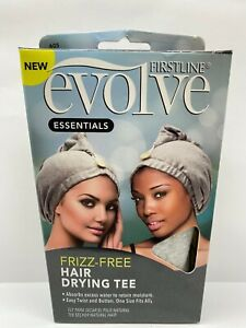 Firstline Evolve Essentials Frizz-Free Hair Drying Tee W/Free Shipping!!