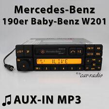 Mercedes Special BE2210 AUX-IN MP3 190er Autoradio C-Klasse W201 Kassettenradio
