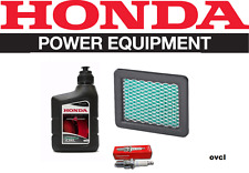 GENUINE HONDA SERVICE KIT HRU19 GCV160 & GSV190 ENGINE HRU197 BPR6ES FILTER OIL