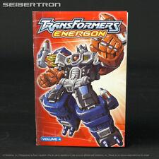 Transformers Energon Volume 4 COMIC / PRODUCT CATALOG Superion Maximus 190407b