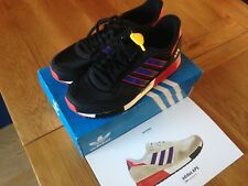 Adidas Trainers Originals New Boxed APS BLACK RED UK Size 8
