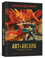 DUNGEONS AND DRAGONS ART AND ARCANA by Michael Witwer Hardcover (0399580948)