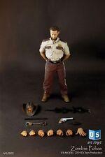 "DSTOYS 1/6 The Walking Dead Rick Grimes Sheriff 12"" Figure W/Body Head Clothes"