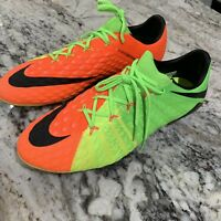New Nike Hypervenom Phantom ACC III 3 SG-Pro ACC Siz 13 Green Orange  881939-309