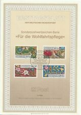 1985 Germany/West Berlin FDC/ETF cachet Charity Stamps - Flora & Fauna