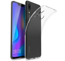 "FUNDA de GEL TPU FINA ""ULTRA-THIN"" 0,5mm TRANSPARENTE para HUAWEI P SMART PLUS"