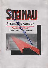 NEHEIM, Prospekt 1929, Steinau Stahltüren- und Fensterbau Stahl-Türzargen