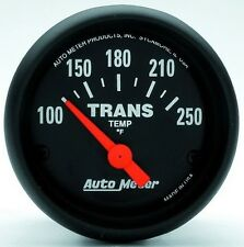 "Auto Meter 2640 Z Series 2 1/16"" Electric Transmission Temp Gauge 100-250 deg. F"