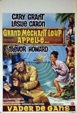 Cary Grant : Father Goose : Original Belgian Poster