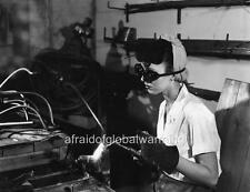 Photo. 1944-5. WW2. Tennessee.  Woman Welding at Prefab Shop