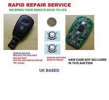 Hyundai Accent Atos Getz Elantra Santa fe 2 Button Remote Key Repair Service Fix