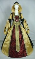 Medieval Renaissance Tudor Wedding Handfasting LARP Gown Dress Costume (MD-07)