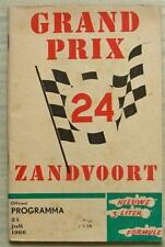 More details for dutch grand prix formula one zandvoort f1 official programme july 1966