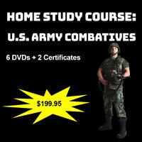 Home Study Course: U.S. Army Close Quarters Fighting Techniques (DVDs + Certs)